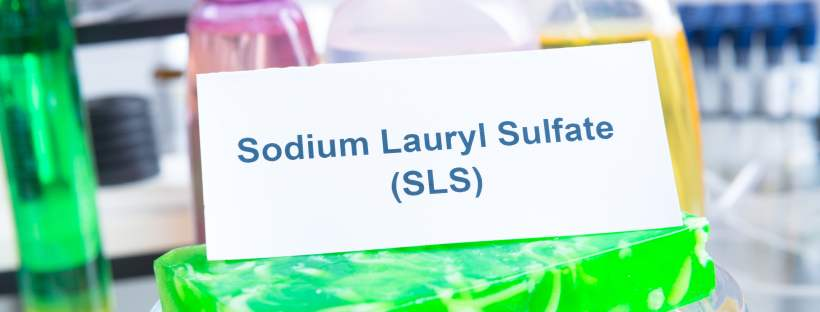 Produits avec écrit sulfate